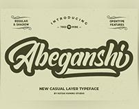Abeganshi Bold Script Free Download
