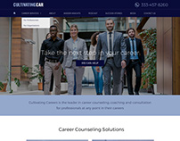 Career Consultation Website Design