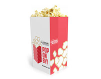 Promo Popcorn Box: Conference Event