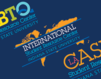 Indiana State University Student Resource Center Logos