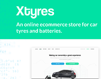Xtyres: Online Tyres E-commerce
