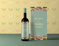 Heidie Logo & Wine Packaging Design