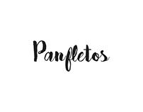 Panfletos | Flyers