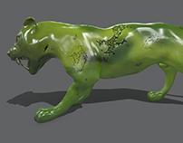 nephrite tiger