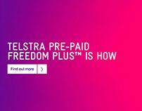 Telstra-Prepaid Freedom Html5 Rich Media Banner