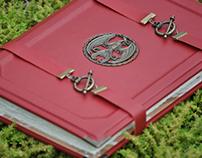 Phoenix Leather Book