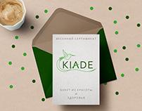 Brand identity design for KIADE