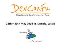 Design for DevConFu visual materials