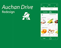 Auchan Redesign Mobile App
