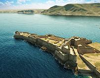 Spanish fortress of Mers-el-Kebir, Oran XVIIth. century