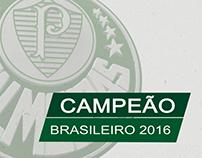 Matéria Especial Palmeiras Campeão Brasileiro 2016