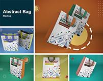 Abstract Bag Mockup
