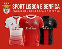 Sport Lisboa e Benfica - Concept Kits 2017|2018 Season