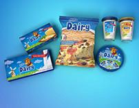Branding - Packaging - Dairy Export Range
