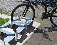 DN-A Square: modular bike parking