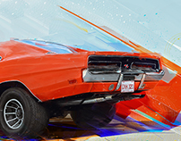 Muscle Car Art