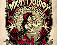 Mighty Sounds music festival T-shirt 2015