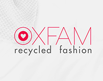 branding | oxfam recycled fashion