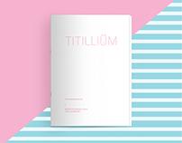 TYPE SPECIMEN BOOK : TITILLIUM
