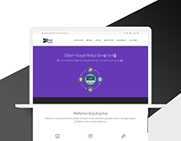 Zemin Digital Logotype & Website Design