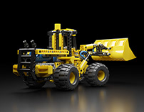 Lego Technic 8459 - Full CGI