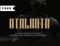 Atalanta Display Typeface