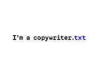 I'm copywriter.txt