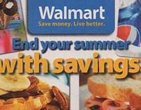Walmart Sunday Circulars, 2013