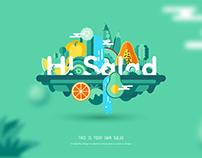 嗨!沙拉 Hi salad
