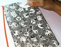 Doodle Art on Moleskine