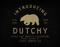 Dutchy - Vintage Type Family (Free Download)