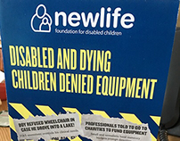 Newlife - 'Breaking Down Barriers' Exhibition Booklet