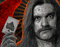 Lemmy – The Only Card I Need - illustration