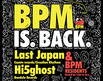 BPM - Band On The Wall Flyer/Poster/Cover Design