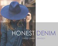 Supply Chain Strategy: Honest Denim