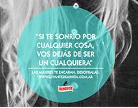 Isenbeck - #LevanteDeMinita (App y gráficas)