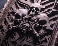 Wood - Skull
