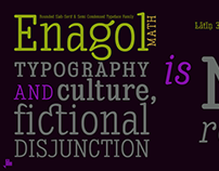 Enagol Math Fonts
