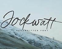 Free Jockwatt Handwriten Font