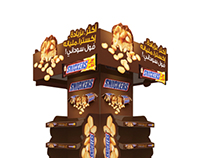 SNICKERS DISPLAY STAND