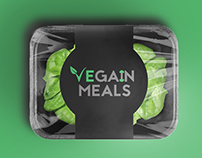 VeGain Meals Logo Design