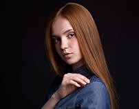 Portrait. Katya.