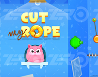 Reskin graphic for a clone game - Cut My Rope