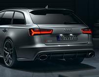 Audi RS6 performance - Garage scene | Full CGI