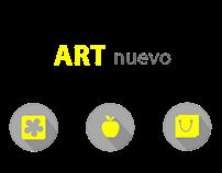 Creating a website for the company Artnuevo