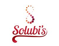 Logotipo Solubi´s -Alimentos Solúveis