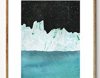 Mountains & Icebergs
