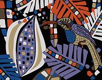 Mosaic jungle