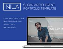 NILA - elegant portfolio Template