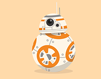 BB8 droid - Star wars